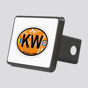 Key West - Oval Design. Rectangular Hitch Cover