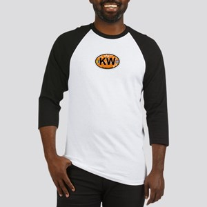 Key West - Oval Design. Baseball Jersey