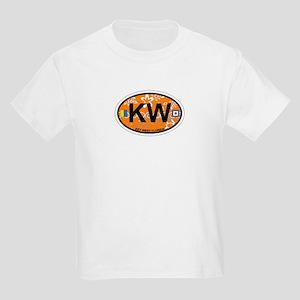 Key West - Oval Design. Kids Light T-Shirt