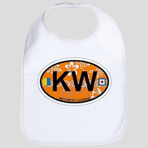Key West - Oval Design. Bib