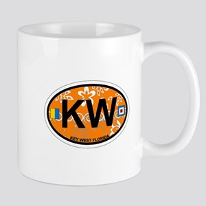 Key West - Oval Design. Mug