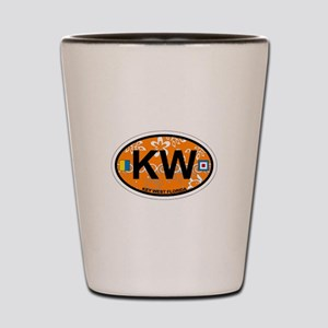 Key West - Oval Design. Shot Glass