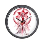 Angel of Blessings Wall Clock