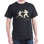 Foil Fencers Neon Dark T-Shirt