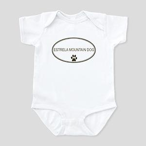 Oval Estrela Mountain Dog Infant Bodysuit