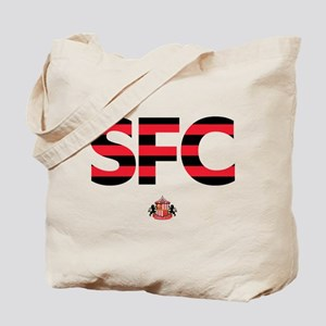 Sunderland Black/Red striped SFC Tote Bag