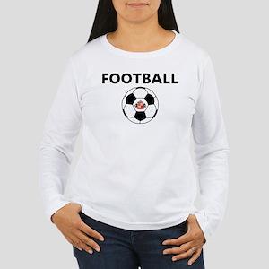 Sunderland Soccer Ball Women's Long Sleeve T-Shirt