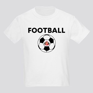 Sunderland Soccer Ball Kids Light T-Shirt