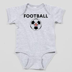 Sunderland Soccer Ball Baby Bodysuit