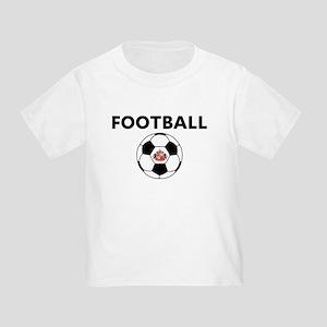 Sunderland Soccer Ball Toddler T-Shirt