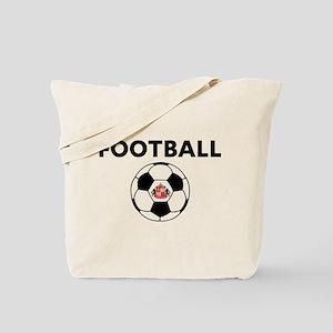 Sunderland Soccer Ball Tote Bag