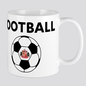 Sunderland Soccer Ball 11 oz Ceramic Mug