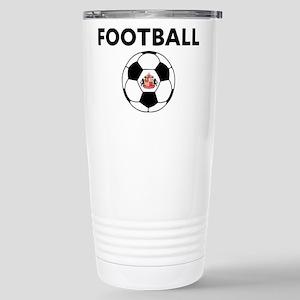 Sunderland Soccer 16 oz Stainless Steel Travel Mug