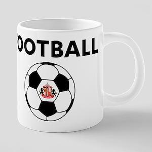 Sunderland Soccer Ball 20 oz Ceramic Mega Mug