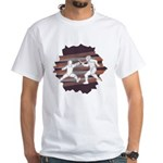 Foil Fencers Crash Earth White T-Shirt