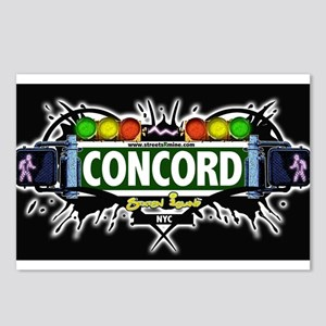 Concord Staten Island NYC (Black) Postcards (Packa