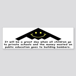 It will be a great day! Bumper Sticker