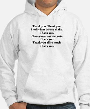 Thank You -- new items Hoodie