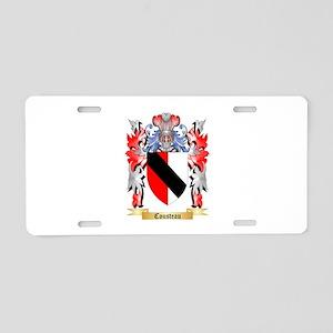Cousteau Aluminum License Plate