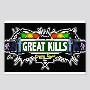 Great Kills Staten Island NYC (Black) Postcards (P