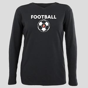 Sunderland white Soccer Plus Size Long Sleeve Tee