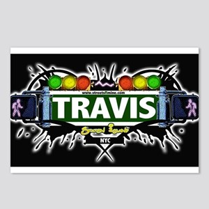 Travis Staten Island NYC (Black) Postcards (Packag
