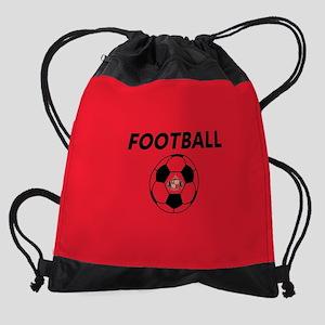 Sunderland Soccer Ball- full bleed Drawstring Bag