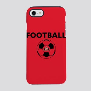 Sunderland Soccer Ball- full b iPhone 7 Tough Case
