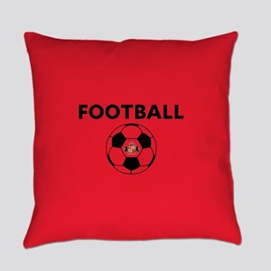 Sunderland Soccer Ball- full bleed Everyday Pillow