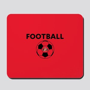 Sunderland Soccer Ball- full bleed Mousepad