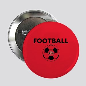"Sunderland Soccer Ball- full bleed 2.25"" Button"