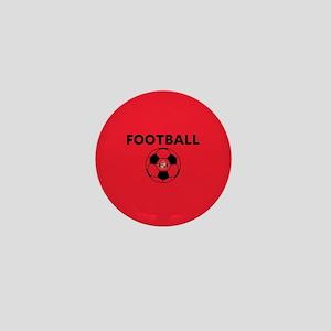 Sunderland Soccer Ball- full bleed Mini Button