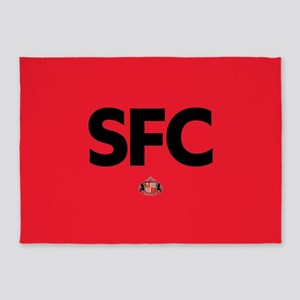 Sunderland SFC dark-full bleed 5'x7'Area Rug
