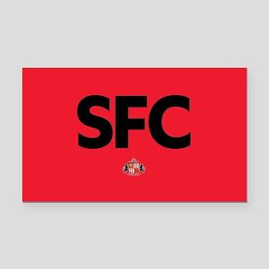 Sunderland SFC dark-full blee Rectangle Car Magnet