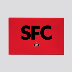 Sunderland SFC dark-full bleed Rectangle Magnet