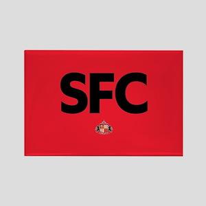 Sunderland SFC dark-full bleed Rectangle Magnet