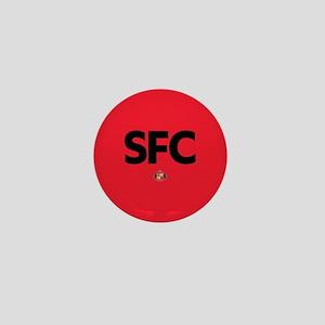 Sunderland SFC dark-full bleed Mini Button