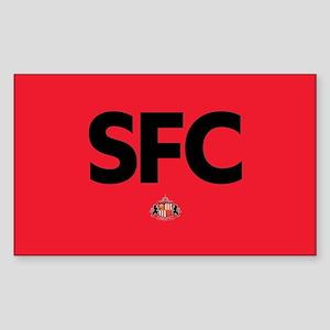 Sunderland SFC dark-full bleed Sticker (Rectangle)