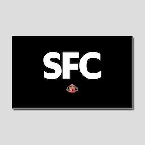 Sunderland SFC -full bleed Car Magnet 20 x 12