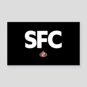 Sunderland SFC -full bleed Rectangle Car Magnet