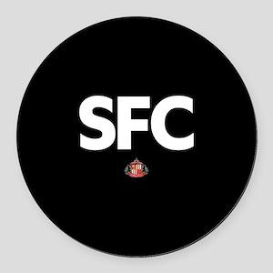 Sunderland SFC -full bleed Round Car Magnet