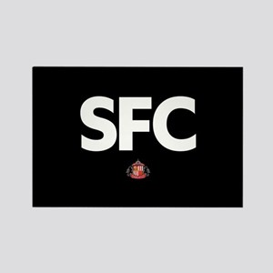Sunderland SFC -full bleed Rectangle Magnet