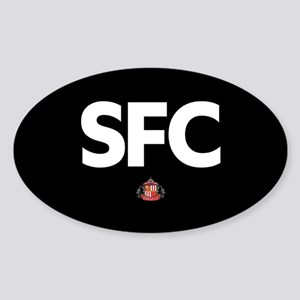 Sunderland SFC -full bleed Sticker (Oval)