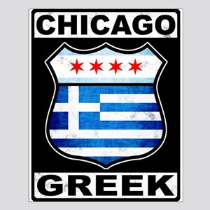 Chicago Greek American Sign Posters