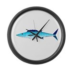 Wahoo ono f Large Wall Clock