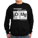 Periodic Table OMg Sweatshirt (dark)