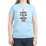 Keep Calm and Neard On Women's Light T-Shirt
