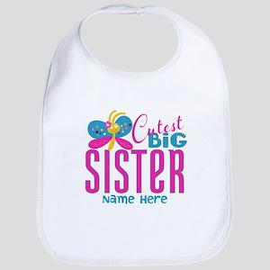 Personalized Big Sister Bib