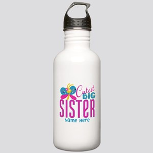 Personalized Big Sister Stainless Water Bottle 1.0