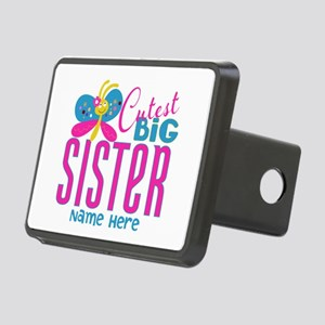Personalized Big Sister Rectangular Hitch Cover